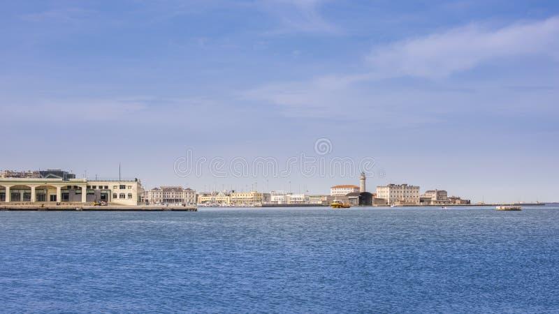 Ciudad de Italia, Trieste fotos de archivo