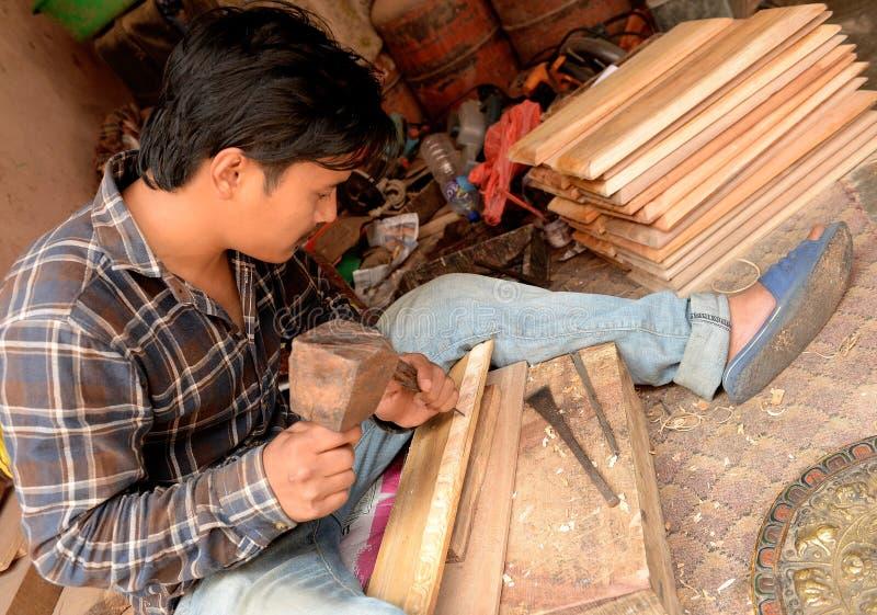 Ciudad de Katmandu, Napel fotografía de archivo