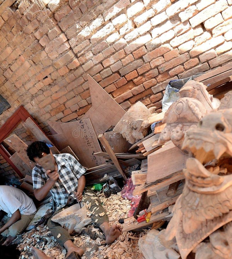 Ciudad de Katmandu, Napel fotos de archivo libres de regalías