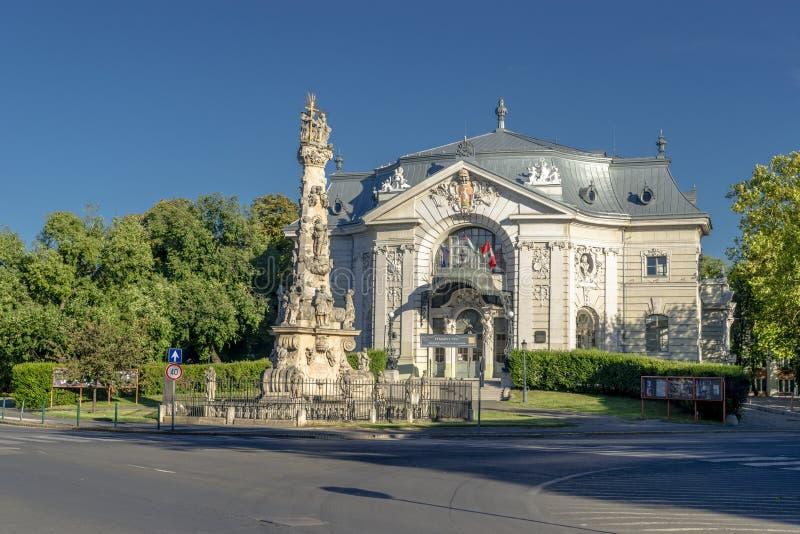 Ciudad de Kecskemet en Hungría foto de archivo