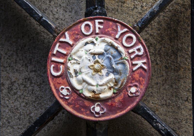 Ciudad de la cresta de York foto de archivo