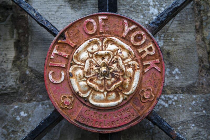 Ciudad de la cresta de York fotografía de archivo