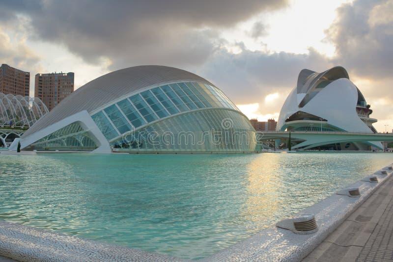 Ciudad de las Artes y de las Ciencias images libres de droits