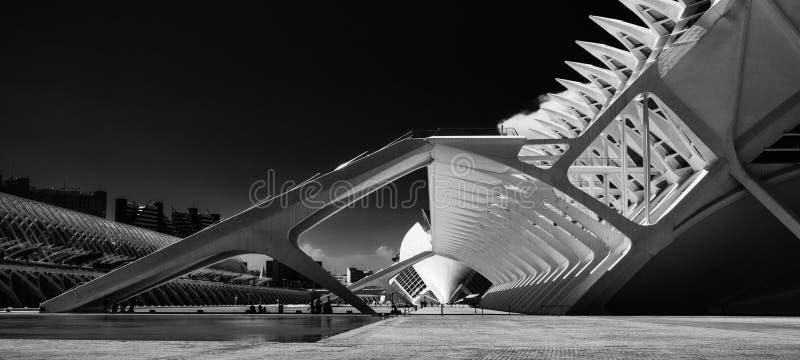 Ciudad de Las Artes y las ciencias lizenzfreie stockfotografie