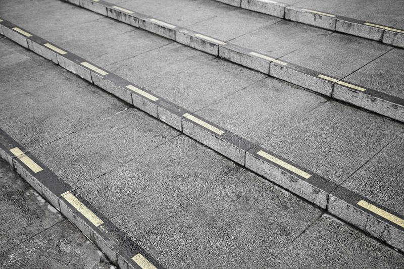 Ciudad de las escaleras imagen de archivo