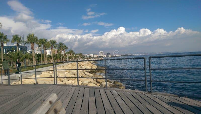 Ciudad de Limassol foto de archivo