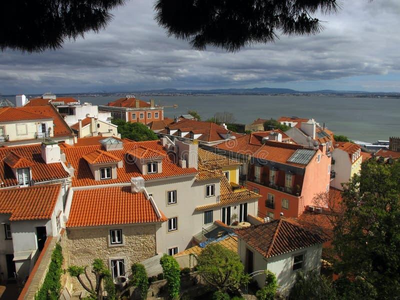 Ciudad de Lisboa fotos de archivo