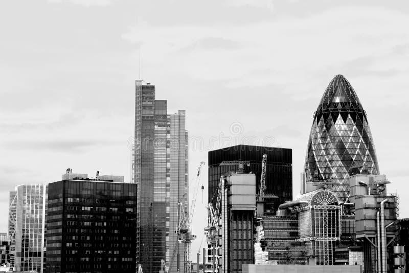 Ciudad de Londres (distrito financiero), Reino Unido fotos de archivo