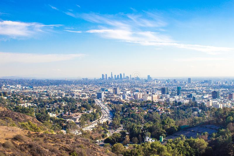 Ciudad de Los Ángeles imágenes de archivo libres de regalías
