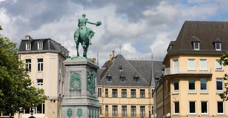 Ciudad de Luxemburgo fotografía de archivo
