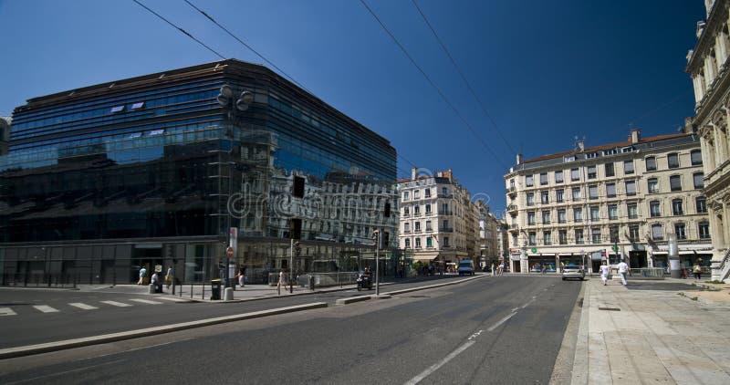 Ciudad de Lyon fotos de archivo