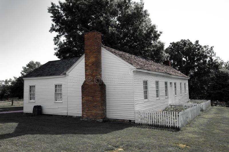 Ciudad 1855 de Missouri fotos de archivo