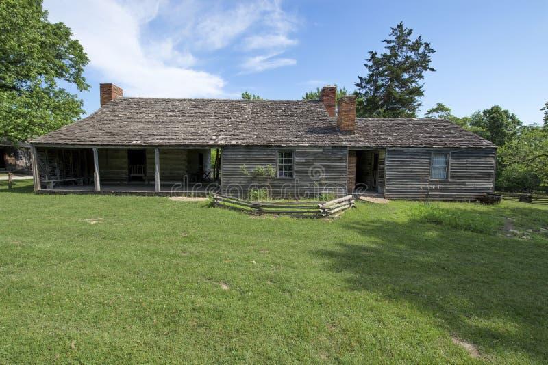 Ciudad 1855 de Missouri fotos de archivo libres de regalías