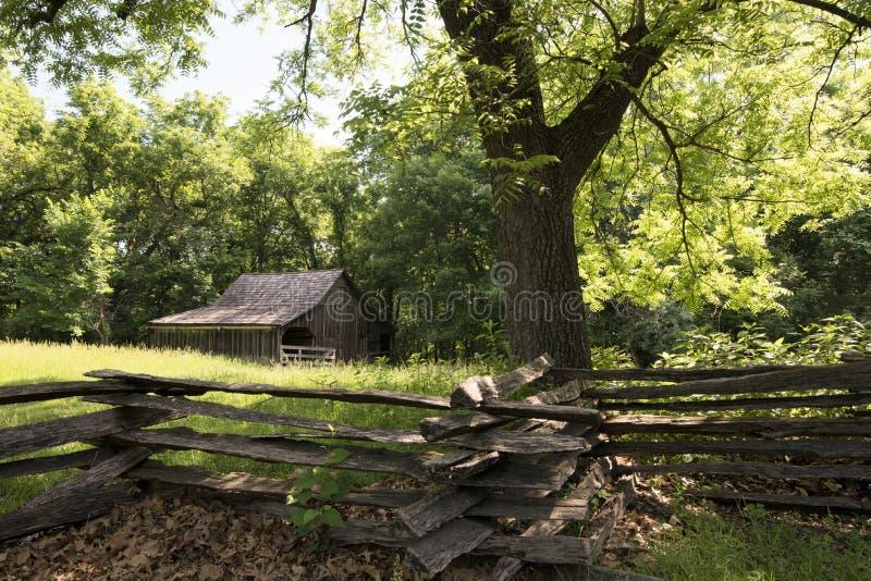 Ciudad 1855 de Missouri foto de archivo