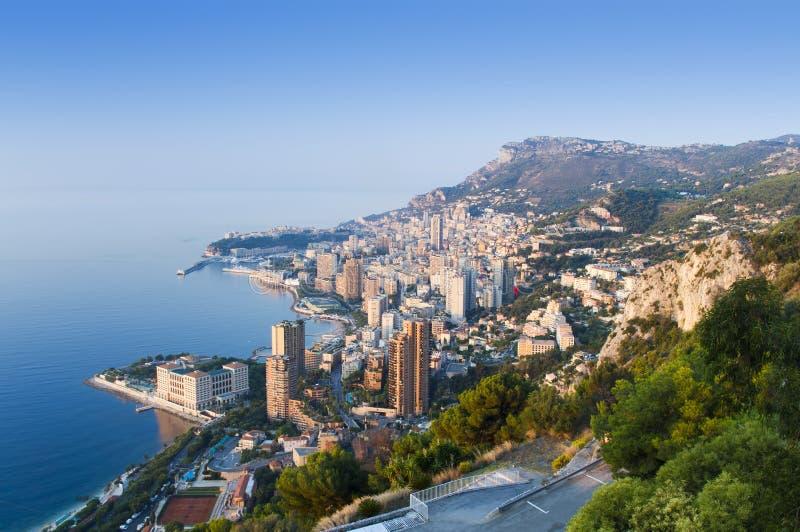 Ciudad de Monte Carlo, Mónaco fotos de archivo libres de regalías