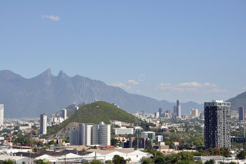 Ciudad de Monterrey foto de archivo libre de regalías