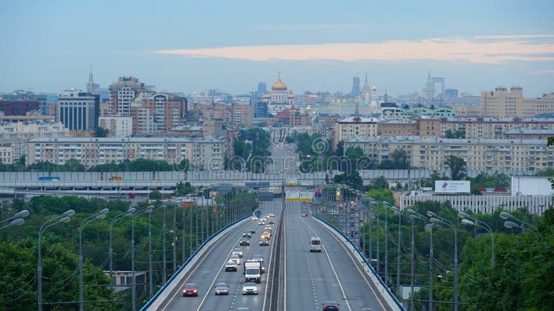 Ciudad de Moscú en el día imagen de archivo