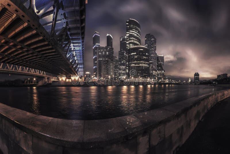 Ciudad de Moscú, Rusia fotos de archivo