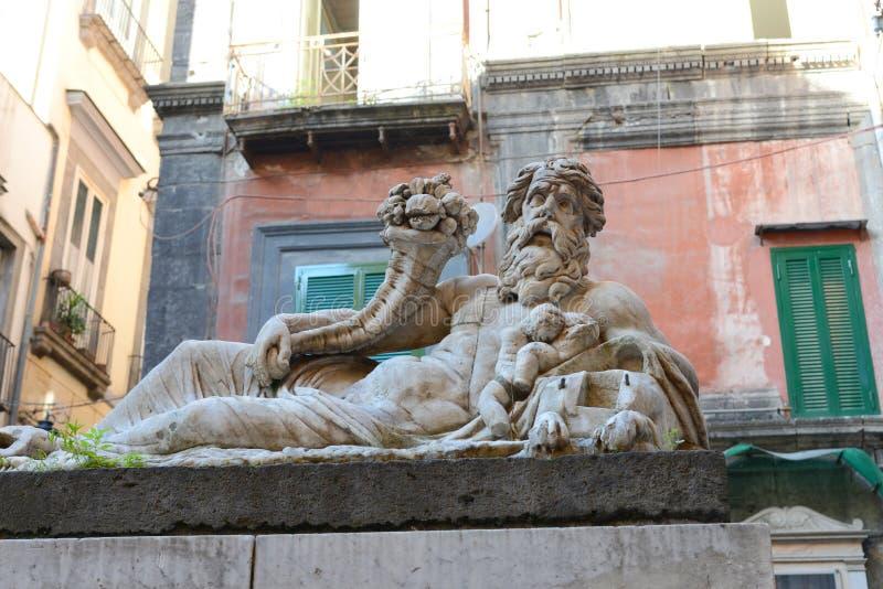 Ciudad de Nápoles fotos de archivo