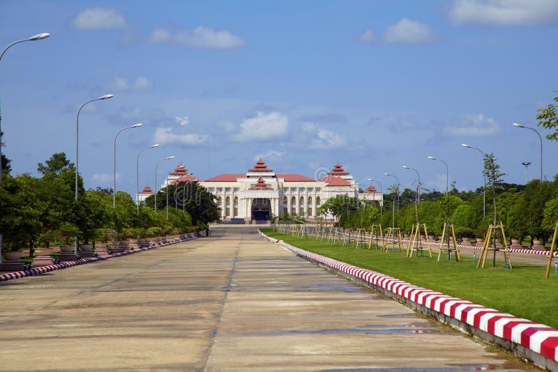 Ciudad de Naypyidaw (Nay Pyi Taw) imagenes de archivo