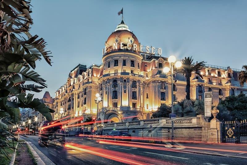 Ciudad de Niza en verano fotografía de archivo libre de regalías