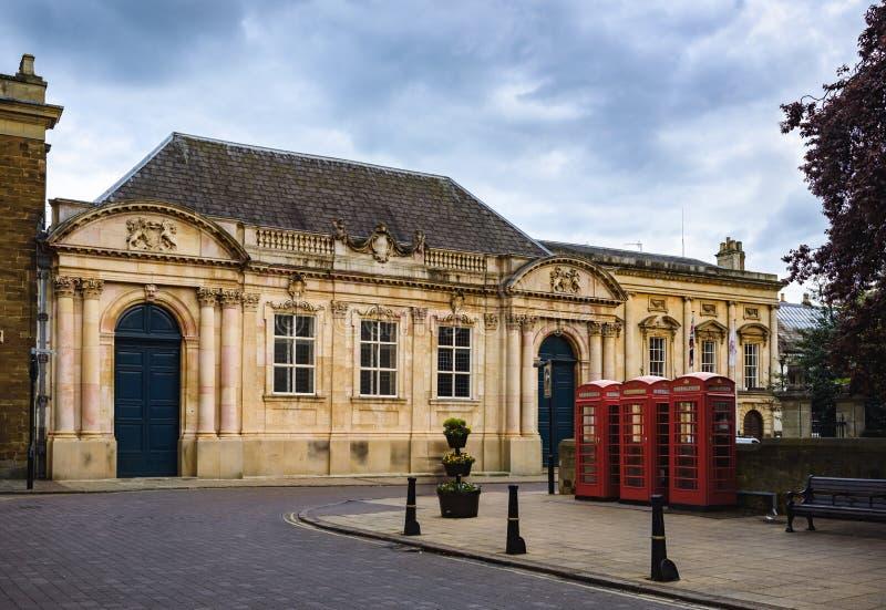 Ciudad de Northampton, Inglaterra, Reino Unido imagen de archivo libre de regalías