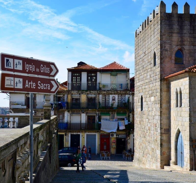 Ciudad de Oporto de Portugal imagen de archivo libre de regalías