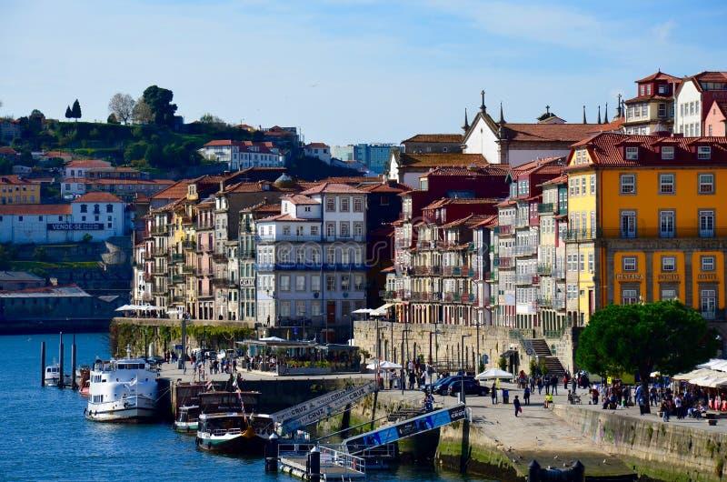 Ciudad de Oporto de Portugal fotografía de archivo libre de regalías
