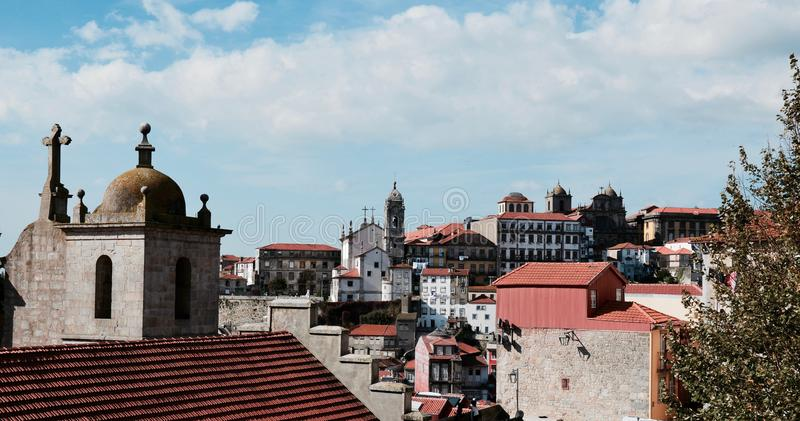 Ciudad de Oporto de Portugal imagenes de archivo