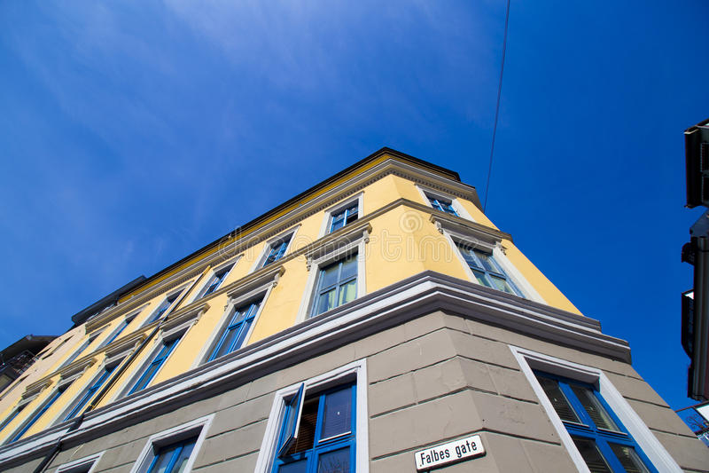 Ciudad de Oslo que construye 12 imágenes de archivo libres de regalías