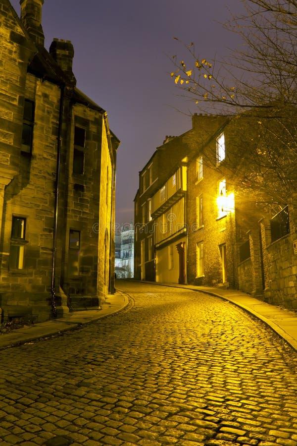 Ciudad de Owengate Durham fotografía de archivo libre de regalías