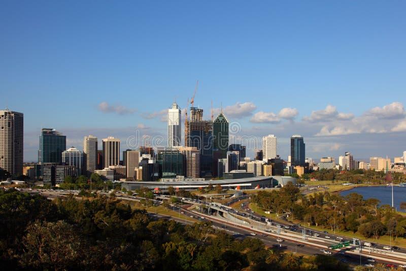 Ciudad de Perth fotografía de archivo