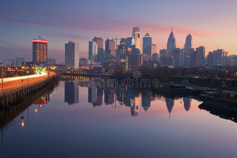 Ciudad de Philadelphia. fotos de archivo