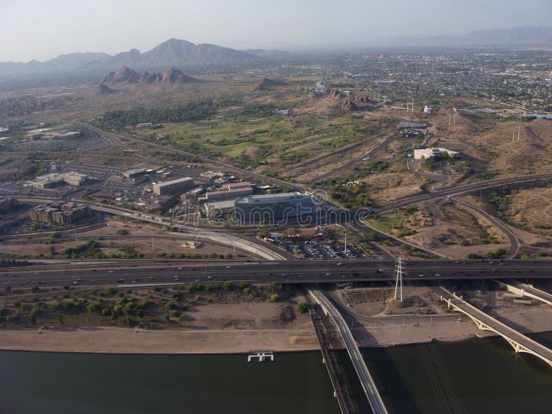 Ciudad de Phoenix, AZ fotografía de archivo