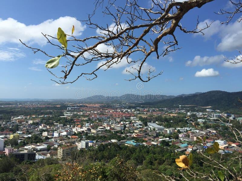 Ciudad de Phuket fotografía de archivo