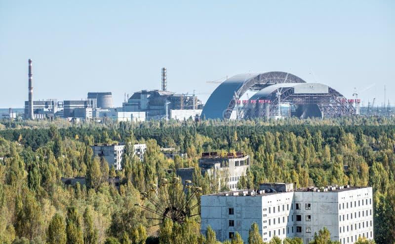 Ciudad de Pripyat imagen de archivo libre de regalías