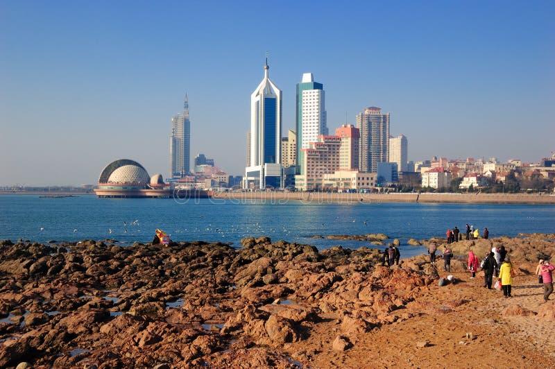Ciudad de Qingdao imágenes de archivo libres de regalías