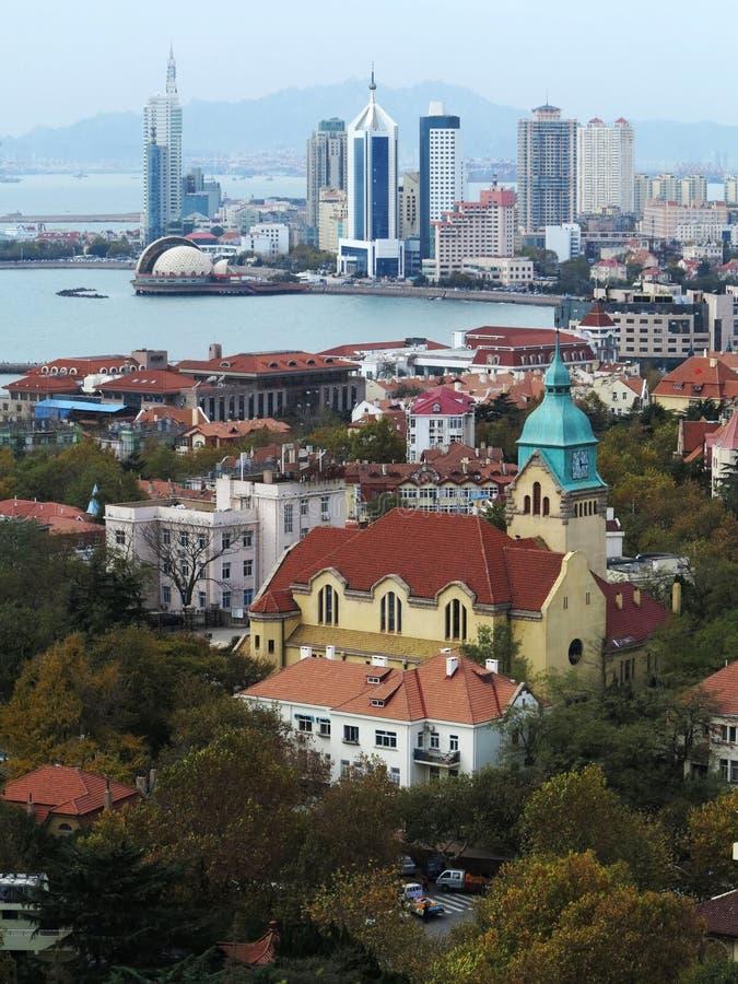 Ciudad de Qingdao fotos de archivo libres de regalías