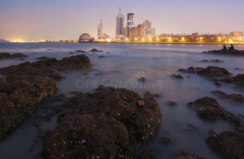 Ciudad de Qingdao foto de archivo