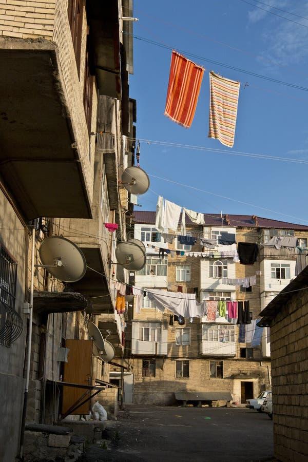Ciudad de Quba en Azerbaijan fotos de archivo