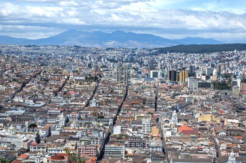Ciudad de Quito fotografía de archivo
