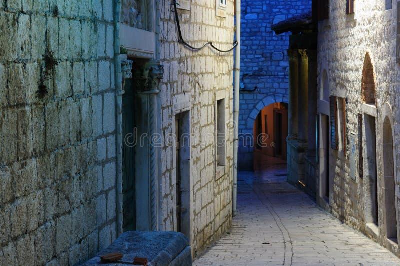 Ciudad de Rab, Croatia fotos de archivo