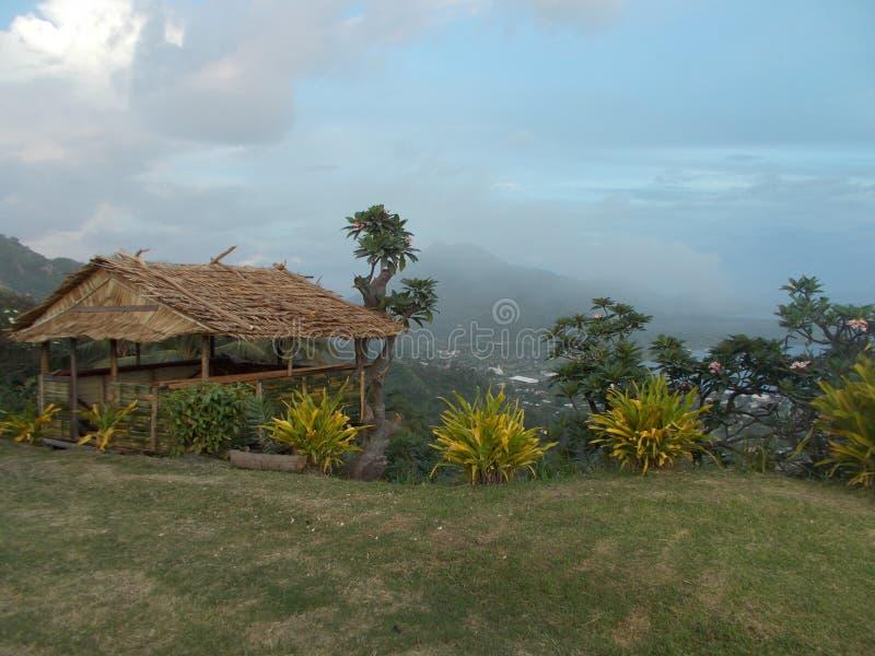 Ciudad de Rabaul imagen de archivo libre de regalías