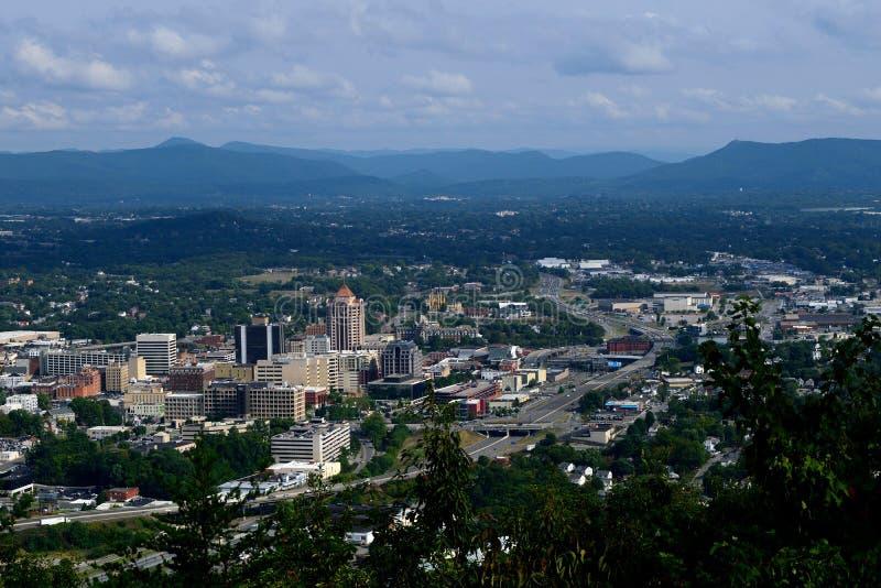 Ciudad de Roanoke fotos de archivo