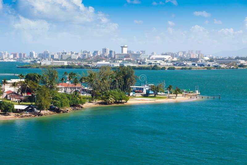 Ciudad de San Juan, Puerto Rico fotografía de archivo