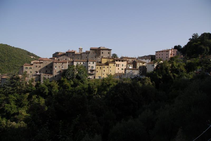 Ciudad de Sassetta imágenes de archivo libres de regalías