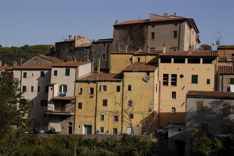 Ciudad de Sassetta fotos de archivo