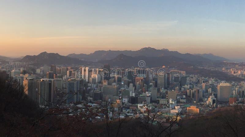 Ciudad de Seul fotografía de archivo libre de regalías
