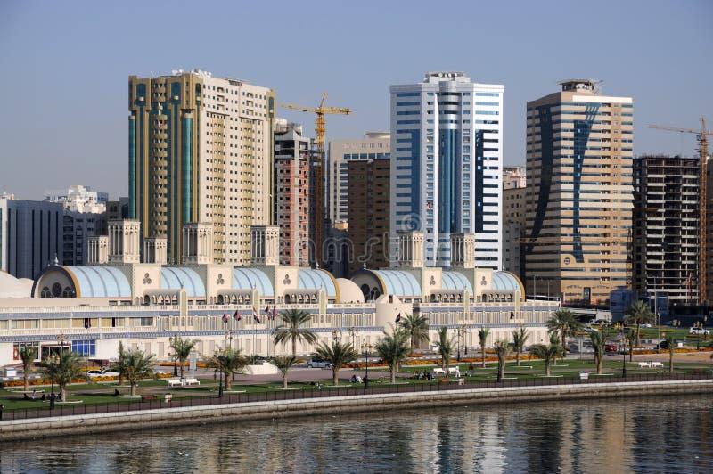 Ciudad de Sharja fotografía de archivo