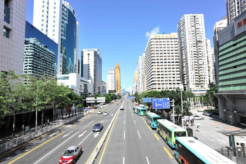 Ciudad de Shenzhen imagen de archivo
